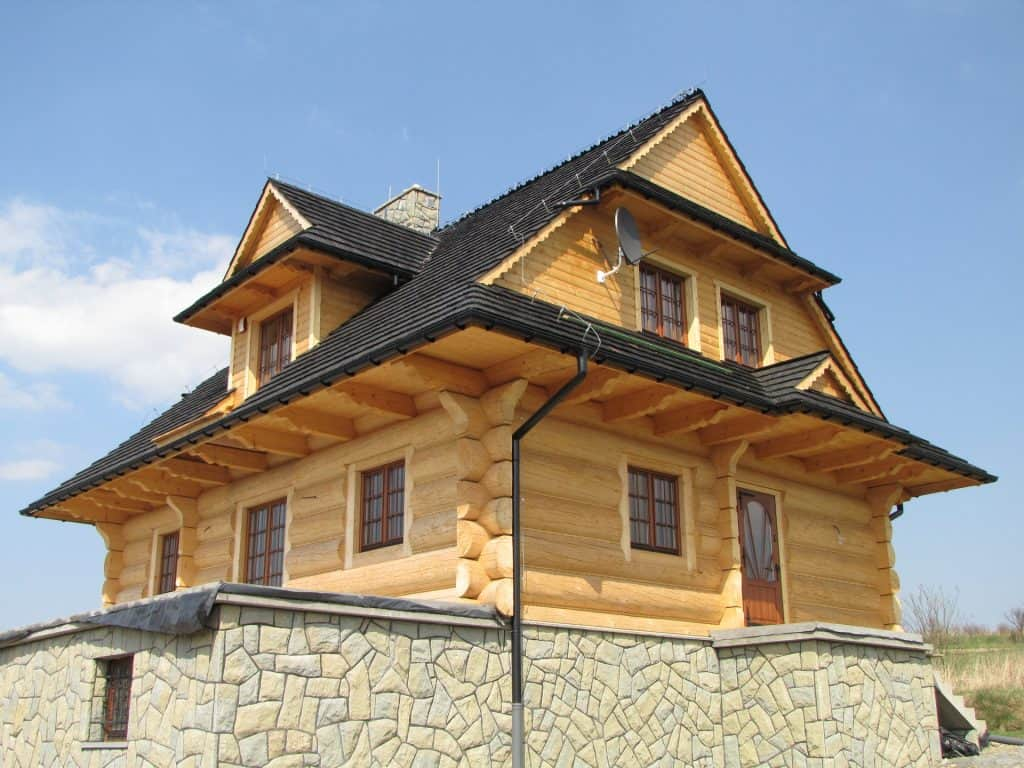 dom drewniany jaworzynka